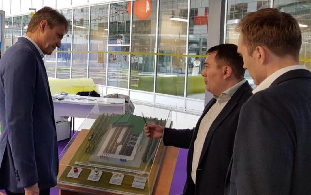 Министр сельского хозяйства РФ А.Н. Ткачев ознакомился с нашим проектом