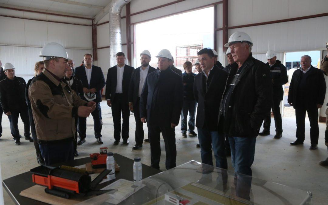 Открытие компостной площадки в Коломне.