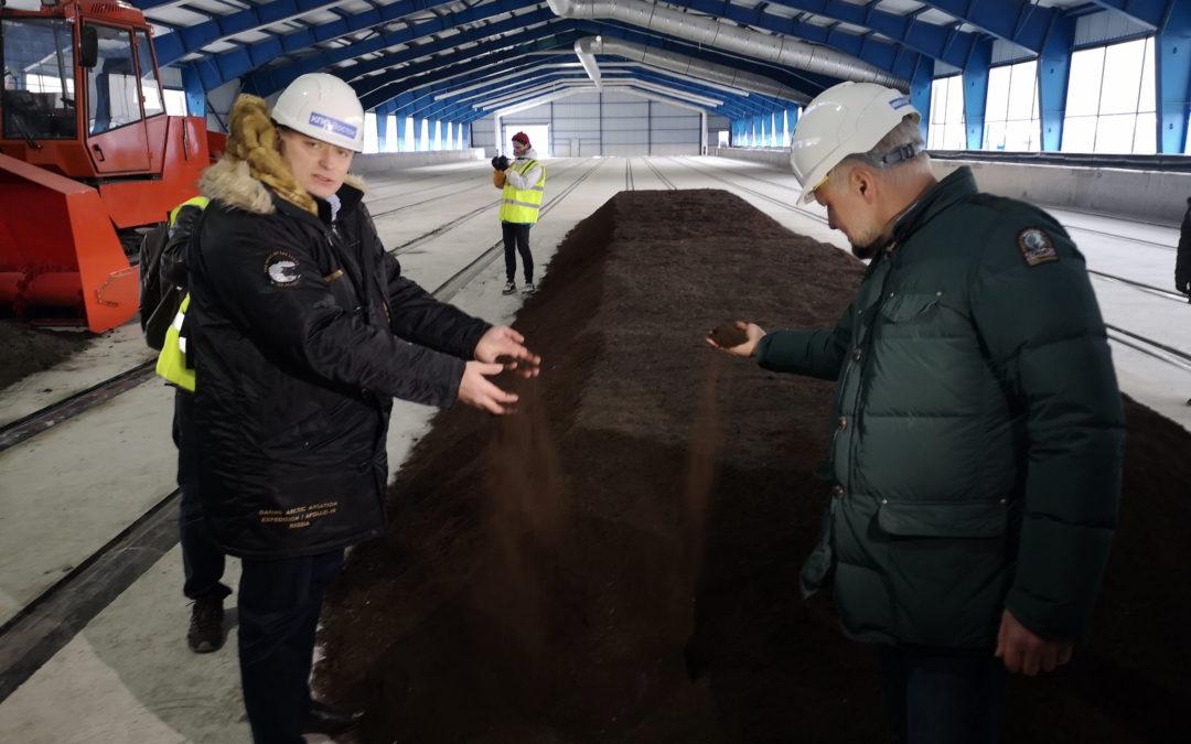 В Егорьевске заработал новый комплекс по переработке отходов с цехом компостирования